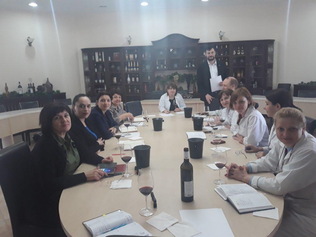 03.07.2019 Curs de instruire privind analiza senzorială a vinurilor